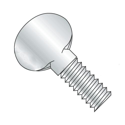 Steel Flanged Spade-Head Thumb Screw Thread Size #10-32 FastenerParts